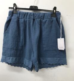 ABIGAIL tetra short jeans blue