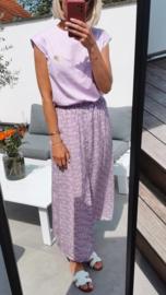 FLOWER GARDEN skirt soft lilac