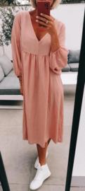 NORA maxi dress pink