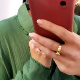 MUZA tetra shirt green