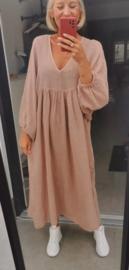 AUTUMN NORA maxi dress beige