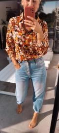 ROMINA flower shirt