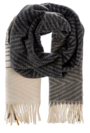 ZIZI scarf anthracite