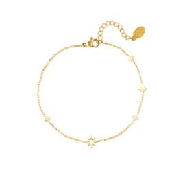 STARS ALL OVER bracelet gold