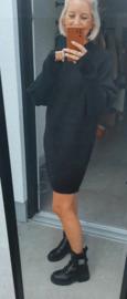 FUNKY knit dress black