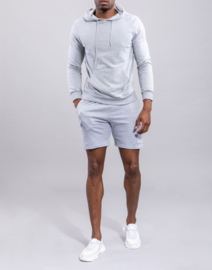 JEAN jogger set grey