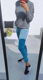 RELAX jeans midi blue