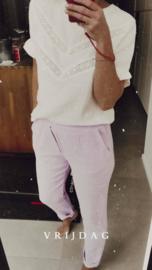 TAMINE tetra pants lilac