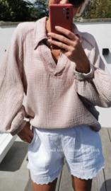 NAPOLI tetra blouse soft pink