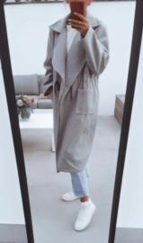 WINTER FRANCA trenchcoat grey