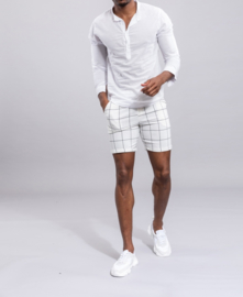 MICH mao shirt white