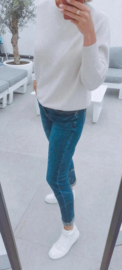 KIKI mom fit jeans dark blue