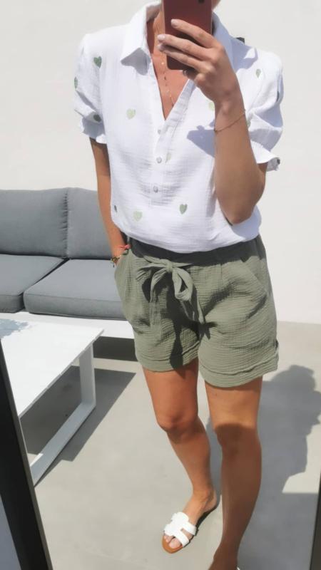 RILEY tetra shorts khaki