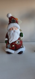 Kerstman theelichthouder