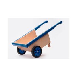Houten kinderkruiwagen, handgemaakt