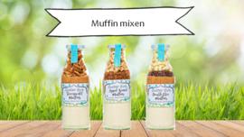 Zuster Evie Double Choc muffinmix 500ml fles
