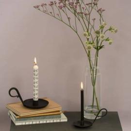 Kandelaar Ashley set met eco-friendly kaarsen 3 stuks