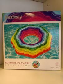 Regenboog zwemband Bestway