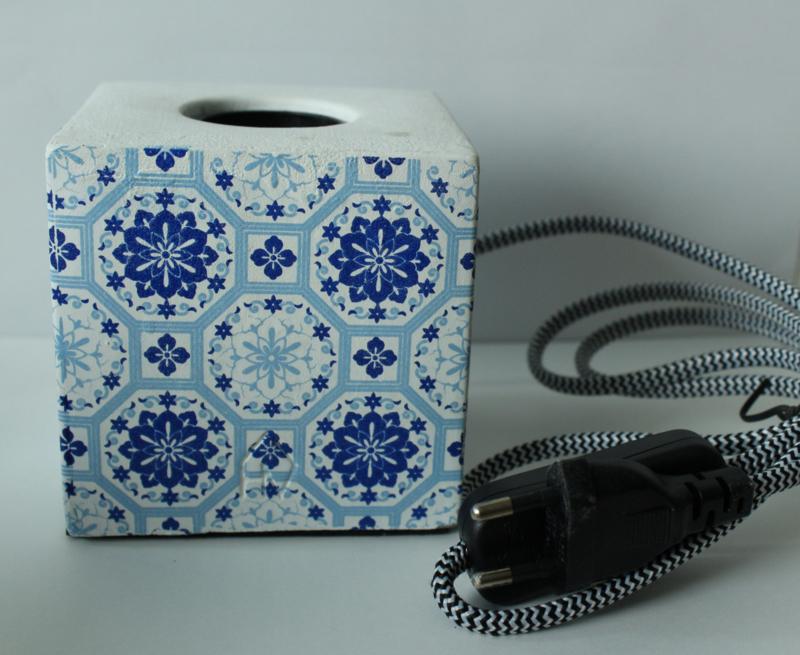 Housevitamin bloklamp blauw