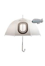 Kinderparaplu kiekeboe vliegtuig met tranparante ramen