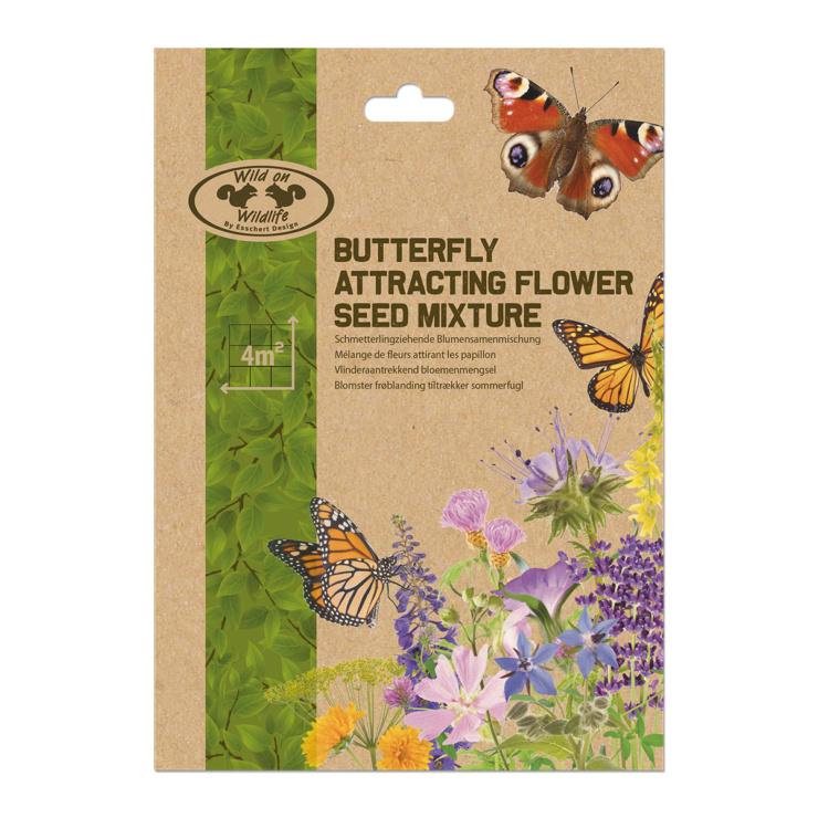 Vlinder aantrekkend zaad 4 m2