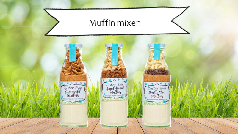 Zuster Evie Double Choc muffins 500ml fles
