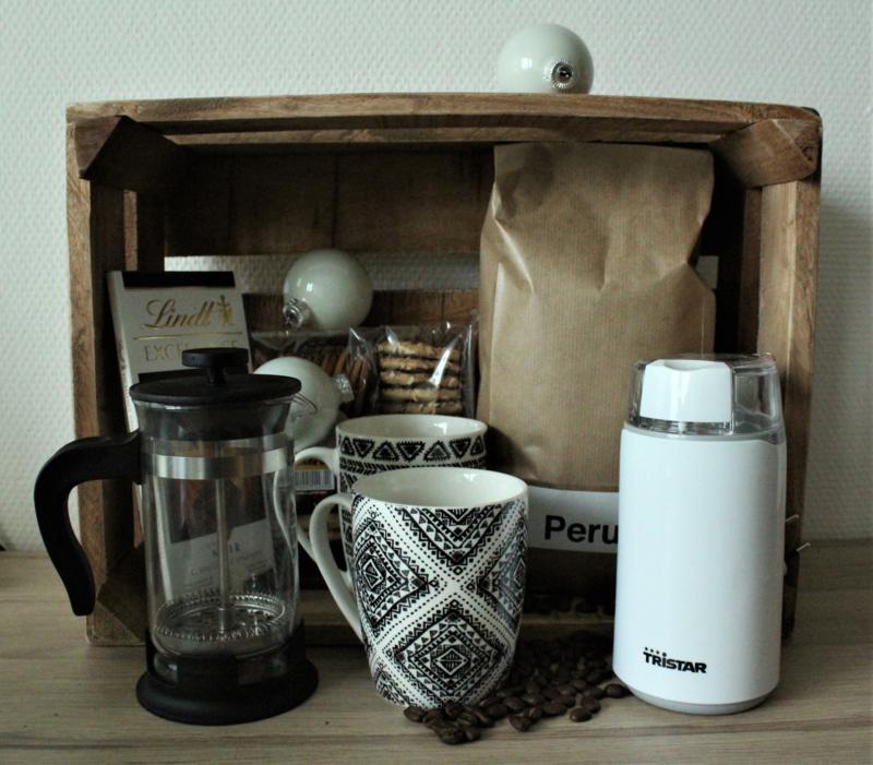 Koffiepakket t.w.v. €60,-