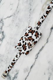 BELT BAG LEOPARD WHITE