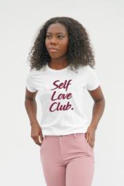 SELF LOVE CLUB T-SHIRT WHITE