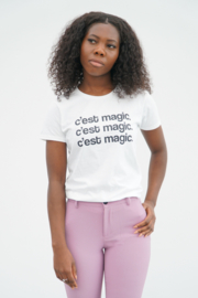 C'EST MAGIC T-SHIRT WHITE