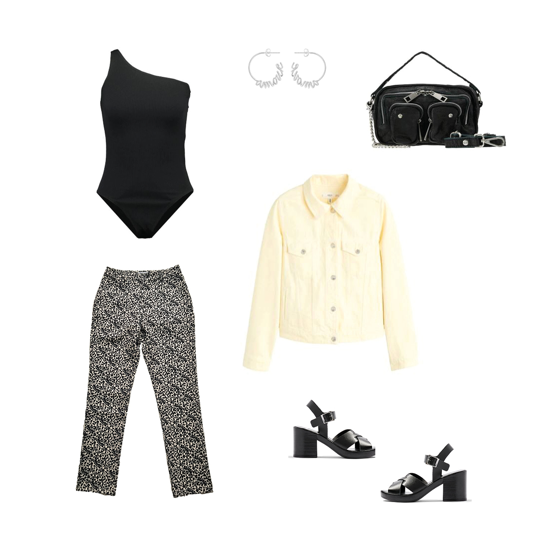 How to wear the SUITED. Classic Leopard Pantalon