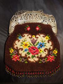 Zeer mooie grote vermoedelijk belgiese tas beugel 1920