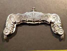 Zilver biedemeier beugeltje 1899 meester A. Hogendoorn nette staat