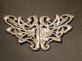 Zilveren ceintuur haak 1920