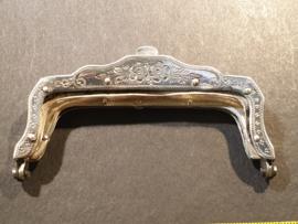 Zilver dubbelbeugeltje 1894 nette staat