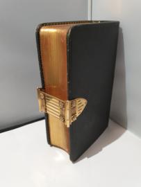 psalmen en gezangen boek oud maar nieuwstaat met 18 Kr gouden  massief slot ook als nieuw