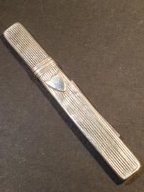 zilveren naalden koker 9 cm A.G. Kooiman 1845