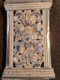 Bijzonder mooie groot Bijbel slot zilver meester T. de Soet  amsterdam 1855