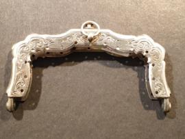 Zilver beugeltje 1900 meester niet leesbaar nette staat