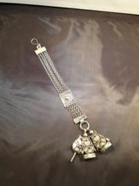 Zilveren horloge ketting 1832 Jacob Kooiman