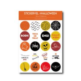 Stickervel 'Halloween'
