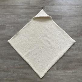 Badcape/omslagdoek wafel & teddy