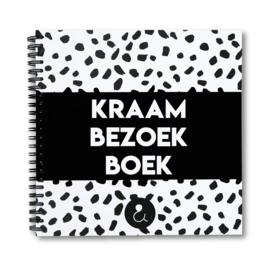 Kraambezoekboek - monochrome