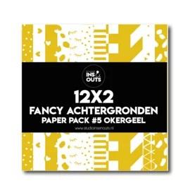 Paper Pack #5 - okergeel