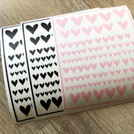 DIY hartjes stickers