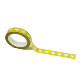 Gele washi tape: Lovely yellow