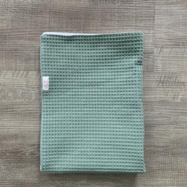 Enkellaags wafel deken