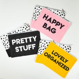Etuis 'happy bag' - roze