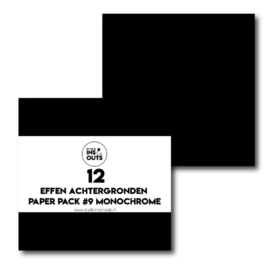 Paper Pack #9- monochrome