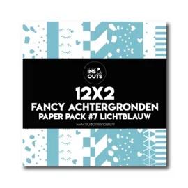 Paper Pack #7 - lichtblauw
